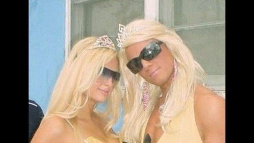 """Paris Hilton Impersonator"""