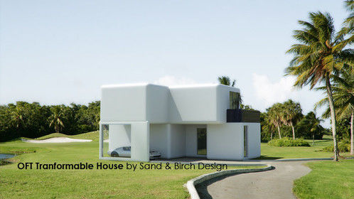 OFT Transformable house by Sand & Birch