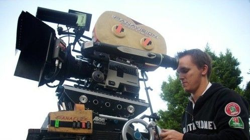 Jason Trembath on the Universal Studios Backlot for 'Desperate Housewives'