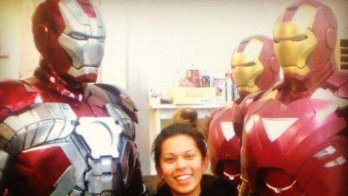 Last few days on Iron Man 3.