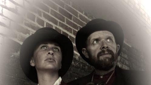 Kate and Allan Pinkerton