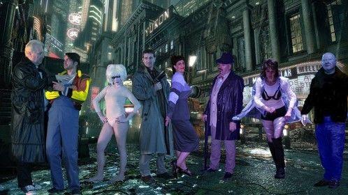 Principal cast of Bladder Run