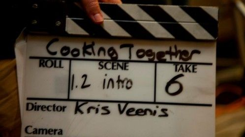 Director's slate 'Cooking Together, Cooking Forever'