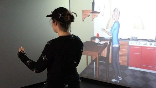 Motion capture driven realtime avatar modified to incorporate disabilities