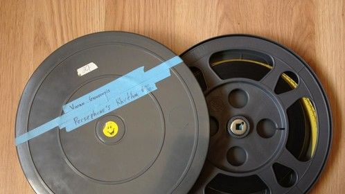 PERSEPHONE'S RYTHMN by VIV G on 16mm film.