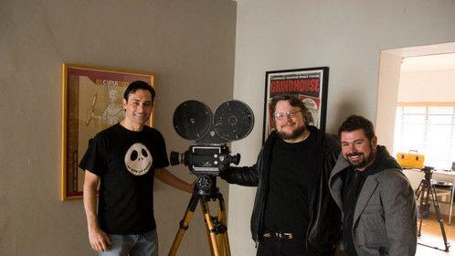 With Guillermo del Toro in