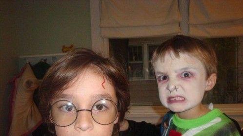 Harry Potter and Voldermort - Kids Halloween