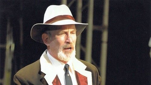 Bill Hard in THE HYACINTH MACAW