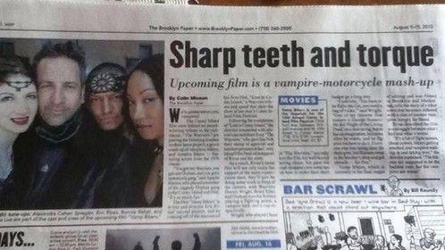 Brooklyn News on Vamp Bikers
