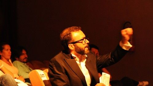 Original show, June 2013: I played the director of an amateurial theare company