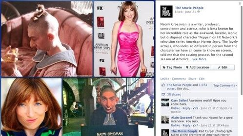 Interview with Naomi Grossman, AMERICAN HORROR STORY