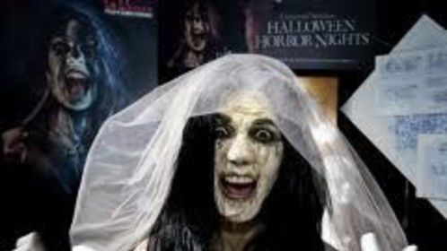 Haunted attraction Bride