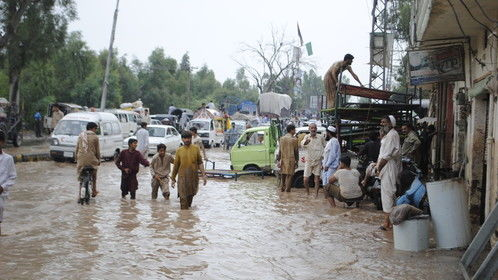 flood hit peshawar