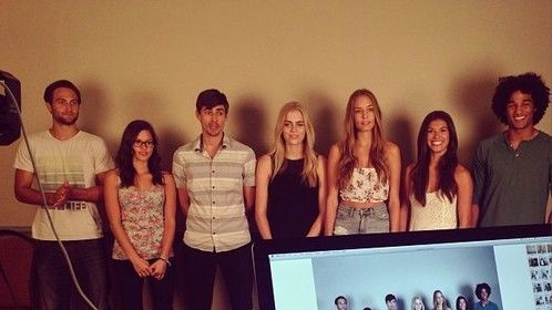 Great day of casting for 2 Fiat commercials