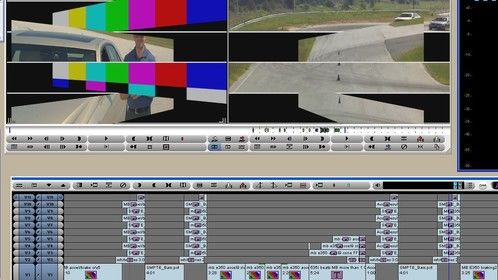 Custom transition I made in Avid a while back; the timeline starts to resemble a city skyline when you stack it up.