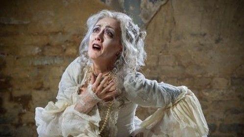 Paula Wilcox as Miss Havisham in my 'Great Expectations'
