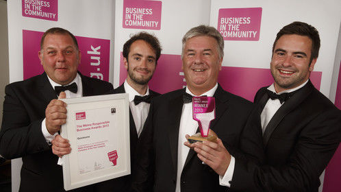 Me at the BITC Awards Ceremony in South Wales.Check out my video.Give and Gain Day 2013 on You Tube