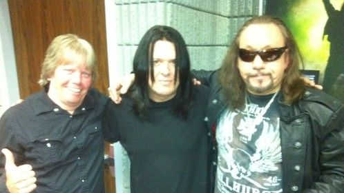 With Billy Stanley(L)- Elvis Presley's Stepbrother & Ace Frehley( guitarist-KISS) Nashville, Tn