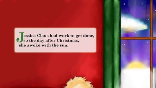 """First page of """"The Santa Switch sequel, """"A Trip for Mrs. Claus"""". Publication slated for October 2014 by Passionflower Press."""