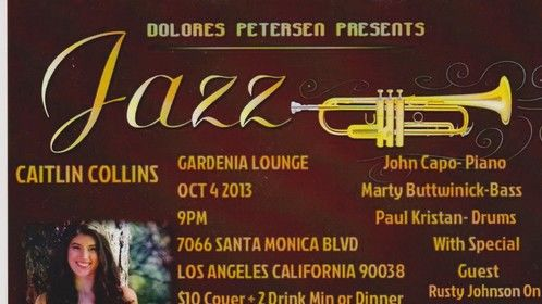 See you at the Gardenia in LA Oct. 4th, hope you can make it!