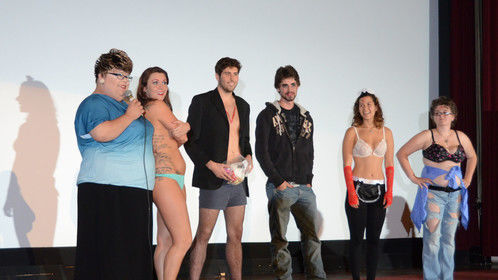 """Rye Seronie Emcee'ing for """"The Master's Affairs"""" Rocky Horror Picture Show Shadow Cast"""