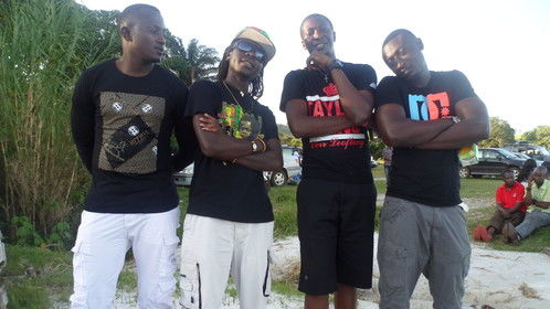 with my boyz in one of the sandy beach in tanzania