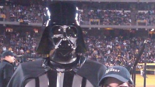 Darth Vader, natch