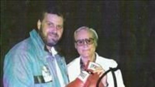 Jeff with George Jones