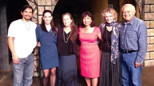 Denise Blasor, David Carreno, Jossara Jinaro, Lina Gallegos, Margarita Lamas and Miguel Santana in LOCURAS
