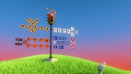 Bot encounters a strange sign
