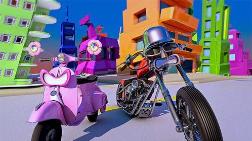 Harley and Vespa