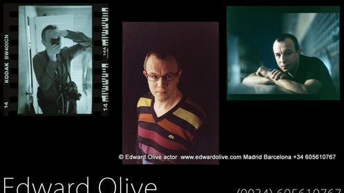 Foto de Edward Olive actor ingles nativo en Madrid España