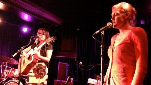 On guitar with Courtney Nicole singing backup