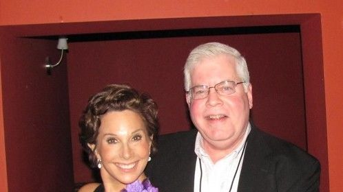 With Frank Traynor, President Screen Actors Guild PA.
