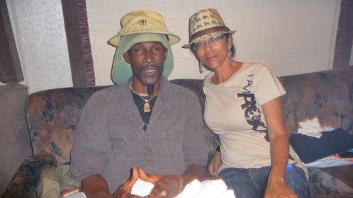With Reggae superstar, Midnite - Miami Reggae Fest