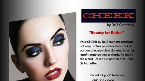 CHEEK cosmetic line.