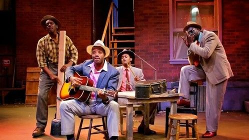 Cast of 7 Guitars written by August Wilson