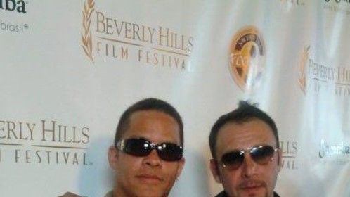 Beverly Hils Film Festival with my brother Nino