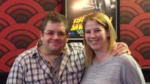 Me and Patton Oswalt at advance screening of