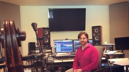 A day in the studio - recording cello extraordinaire TIna Guo