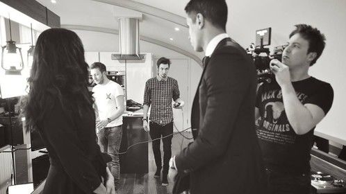 BTS on the shooting of 'The apartment'