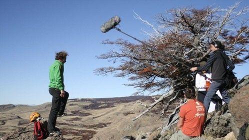 Filming in Patagonia, El Chalten - Argentina.