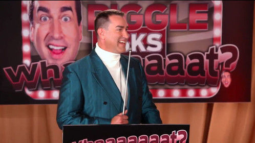 "Rob Riggle for ""Riggle's Picks"" on FOX Sports"