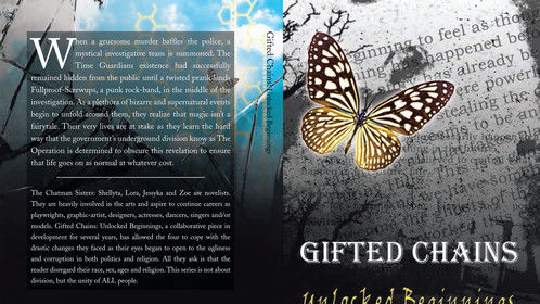 Gifted Chains: Unlocked Beginnings front and back covers