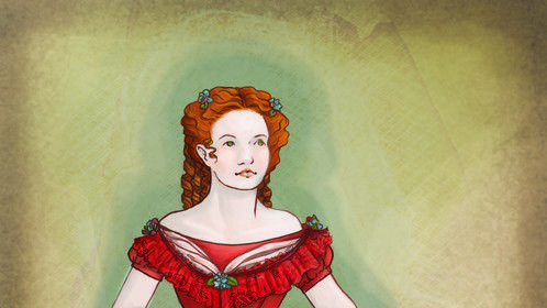 Character illustration for Kate Elmer.