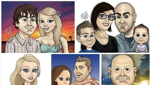 I am doing a limited number of caricatures, perfect for a unique gift, business or part of your project. Get in touch for details!