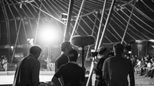"""""""Circus of the Dead"""" - BTS photo, World Premiere Texas Frightmare Weekend Cinematographer, Steadicam Op"""