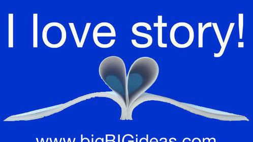 I love stories! Happy Valentine's Day!