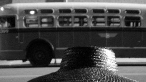 My scene shot on the bus.