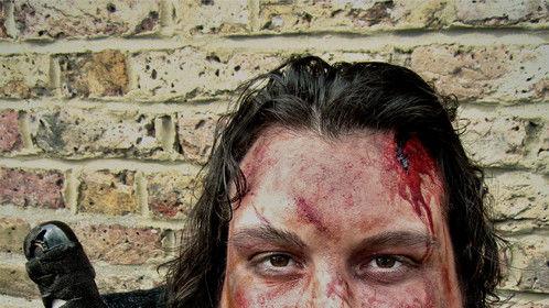 Warrior casualty makeup